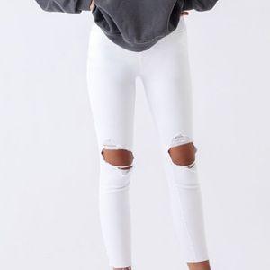 Aeropostale NWT white jeans